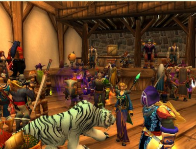 World of Warcraft Screenshot from Conference Web site