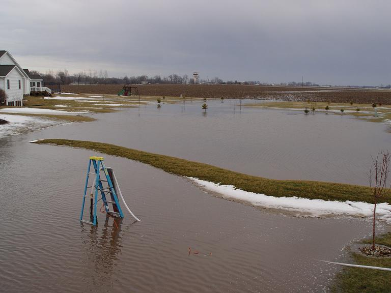 Example of flooding