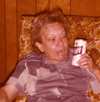 My crazy Aunt Sophie (now deceased).