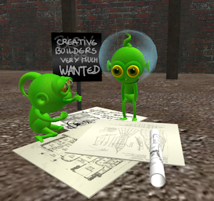 Greenies from Second Life