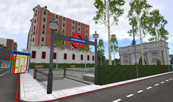 London Re-creation in Second Life