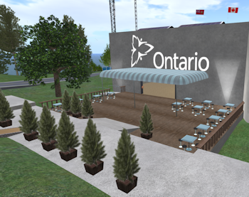 Ontario Build in Second Life