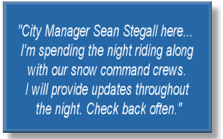 Facebook Post from Sean Stegall, City Manager, City of Elgin, IL