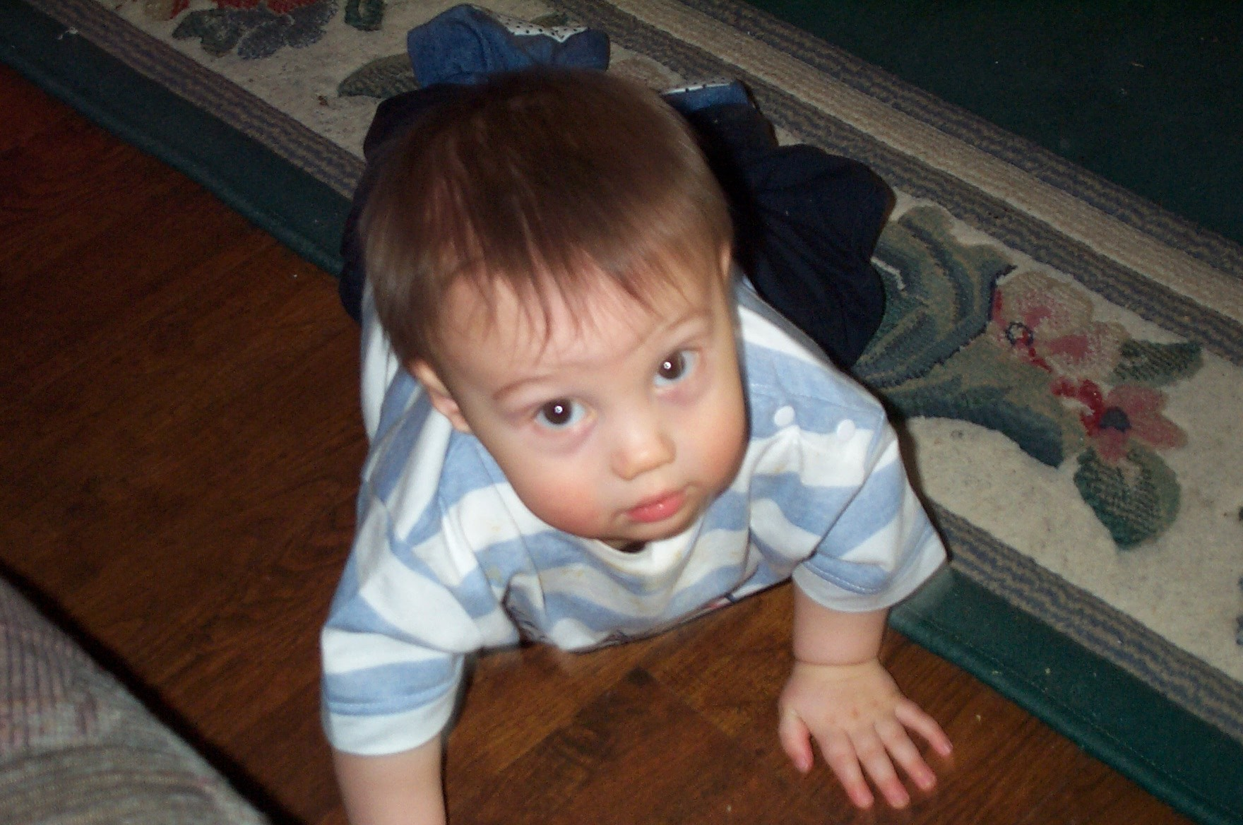 Baby Learning to Crawl and Walk