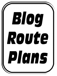 Blog Route Plans Sign