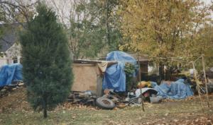 Example of Outside Hoarding