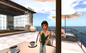 Cafe in Second Life