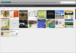 GovGame Directory Site