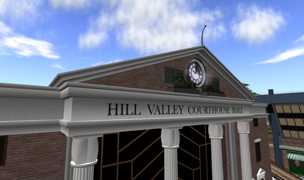 Hill Valley Courthouse Mall