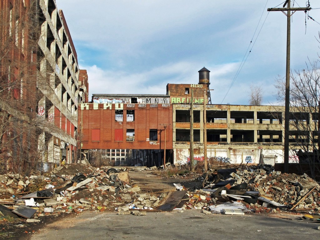 Old Packard Plant Detroit - from AcrylicArtist on morgueFile