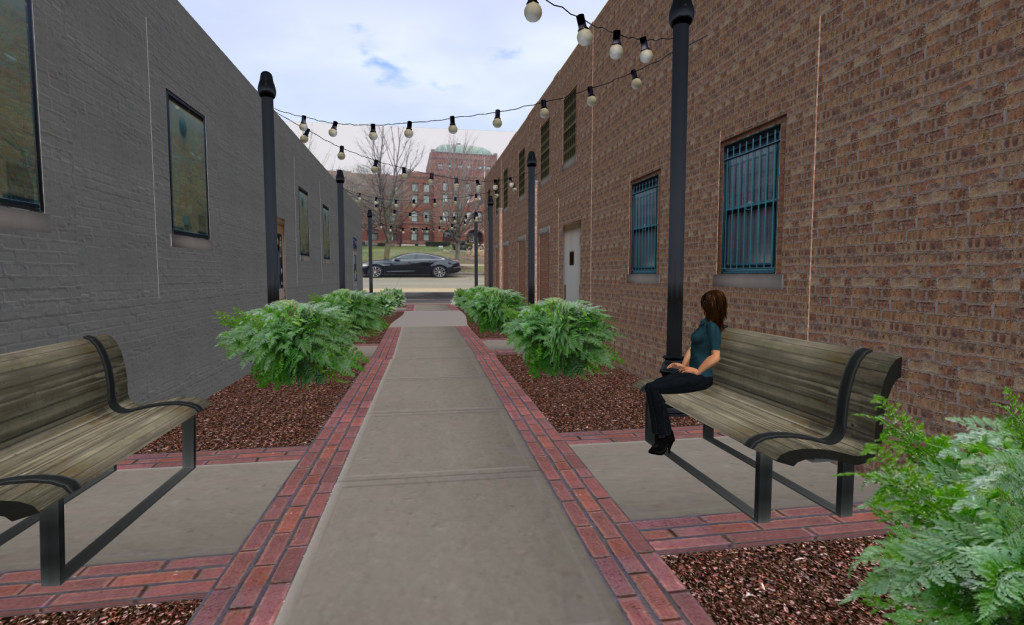Downtown Alley in 3D
