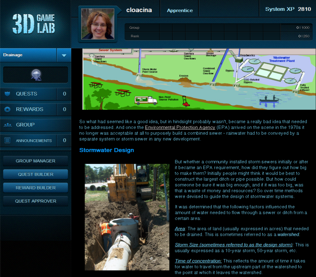 Stormwater Class Screenshot