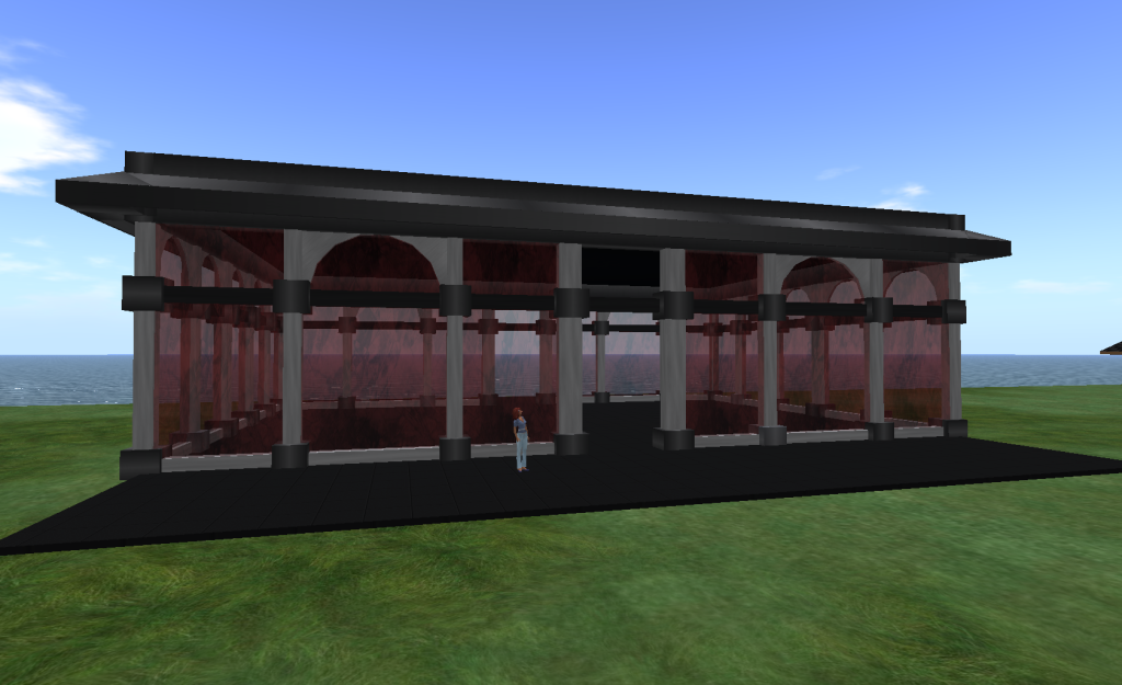 Building created in OpenSim