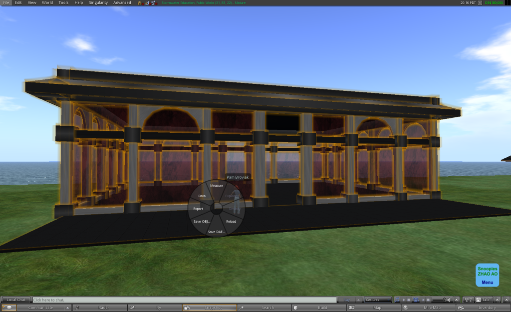 Building export from OpenSim
