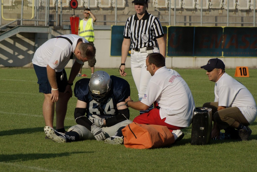 Football Injury by Karpati Gabor