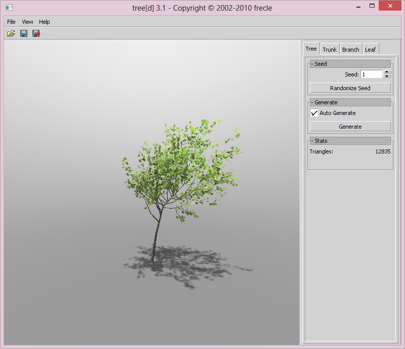 tree[d] interface