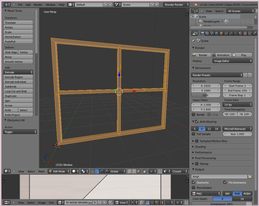 Blender Interface