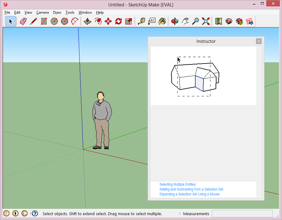 Sketchup Interface