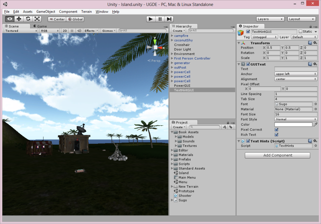 Unity3D Interface
