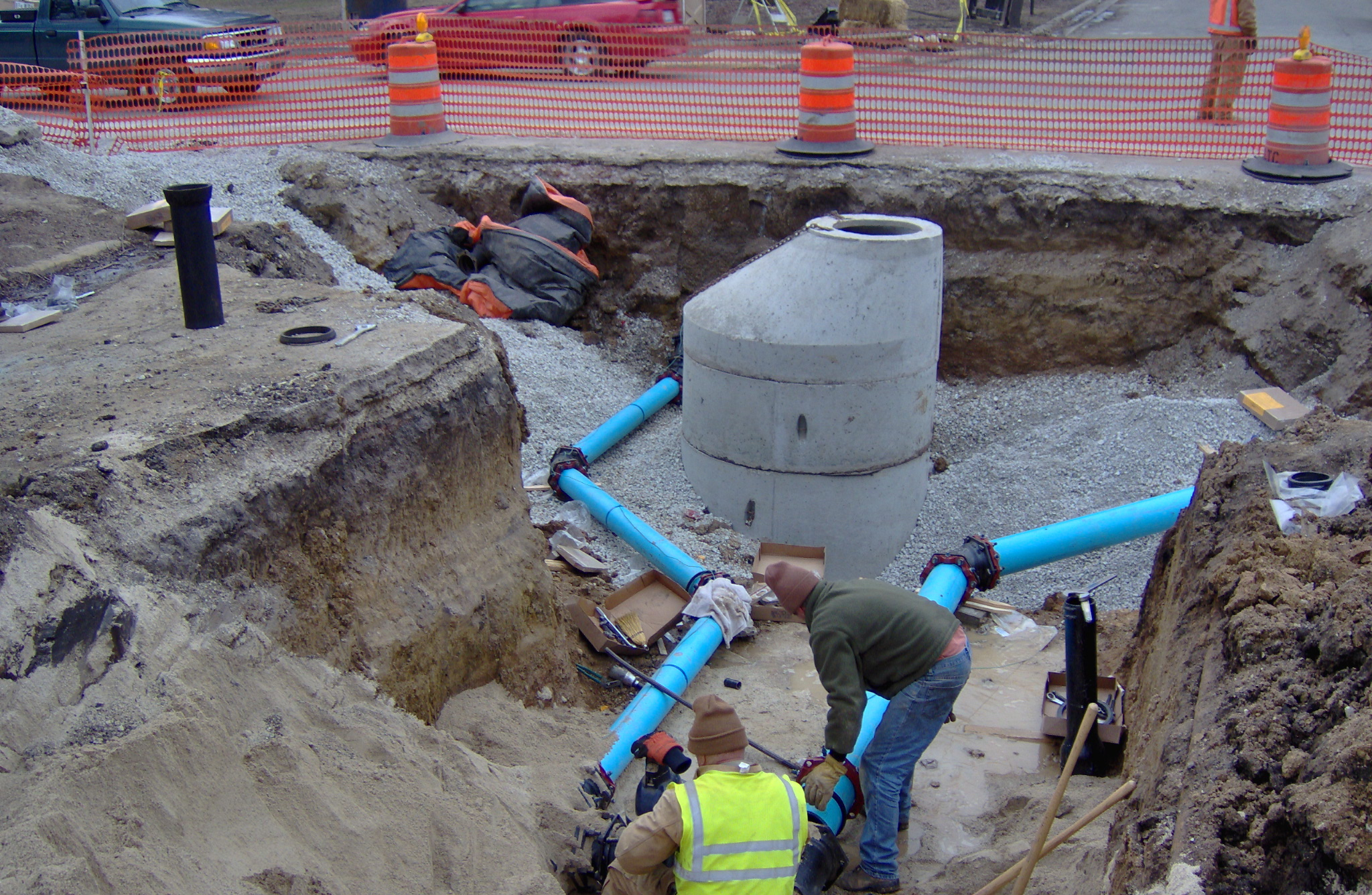 Augview a window to your underground assets public for Water main pipe material