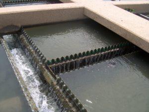 Wastewater clarifier