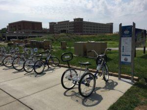 Carmel Zagster Bike Share Program Station
