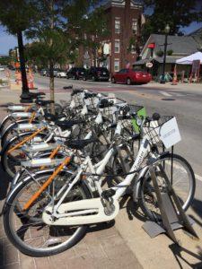 Carmel Bike Share Program Docking Station