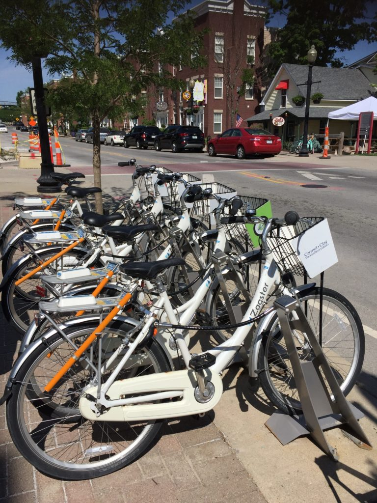 Carmel Bike Share Program Docking Station
