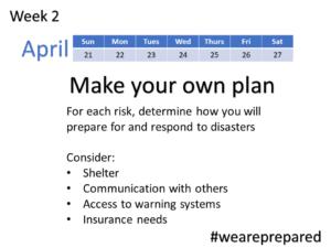 Make Your Plan - Week 2