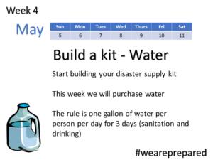 Week 4 - Build a Kit - Water