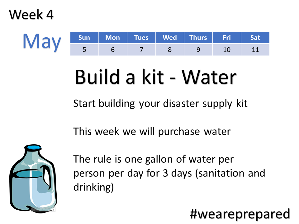 Week 4 - Build a Kit - Water