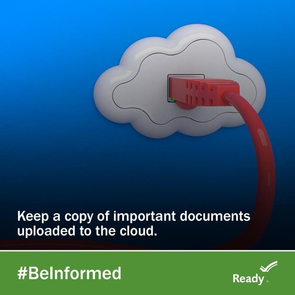 Upload documents to the cloud