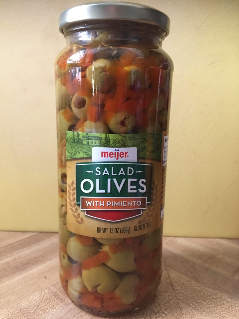 Jar of Olives
