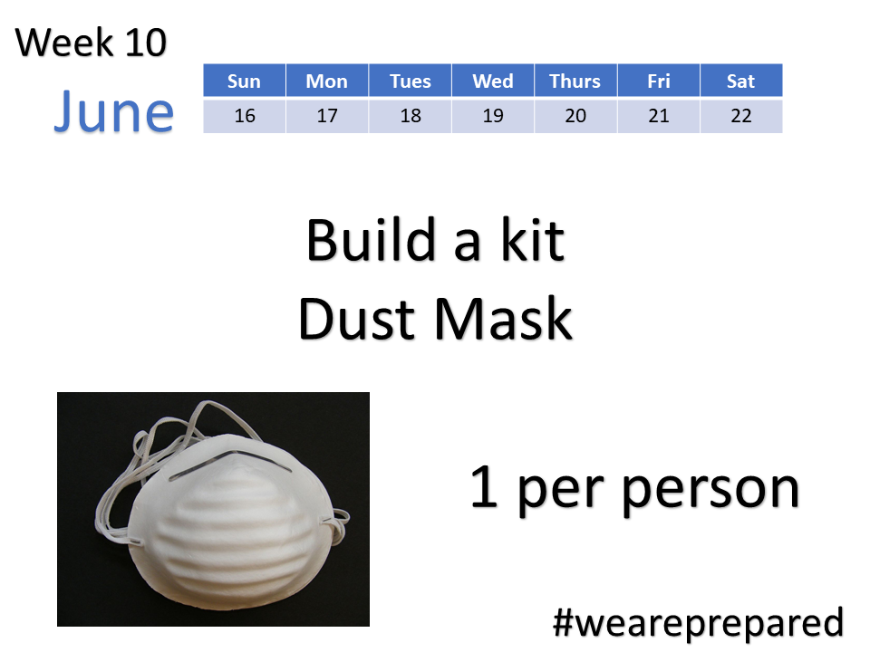 Build a kit - dust mask
