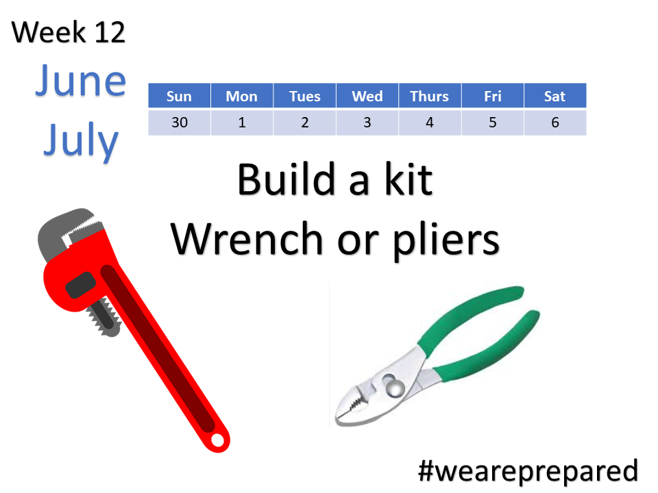 Build a kit - wrench or pliers
