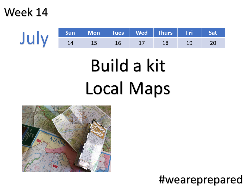 Build a kit Local Maps week 14