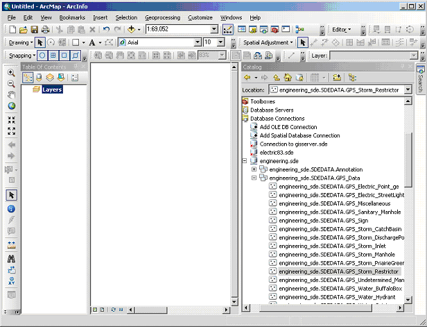Finding your file in ArcCatalog within ArcMap