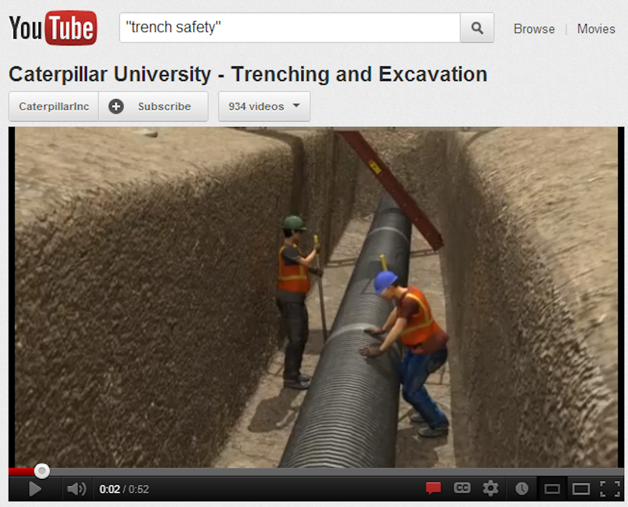 Trench Safety Video