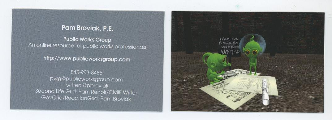 Business Card by MOO
